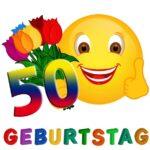 Witzige Glückwünsche zum 50. Geburtstag
