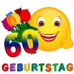 Witzige Glückwünsche zum 60. Geburtstag