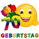 Witzige Glückwünsche zum 70. Geburtstag